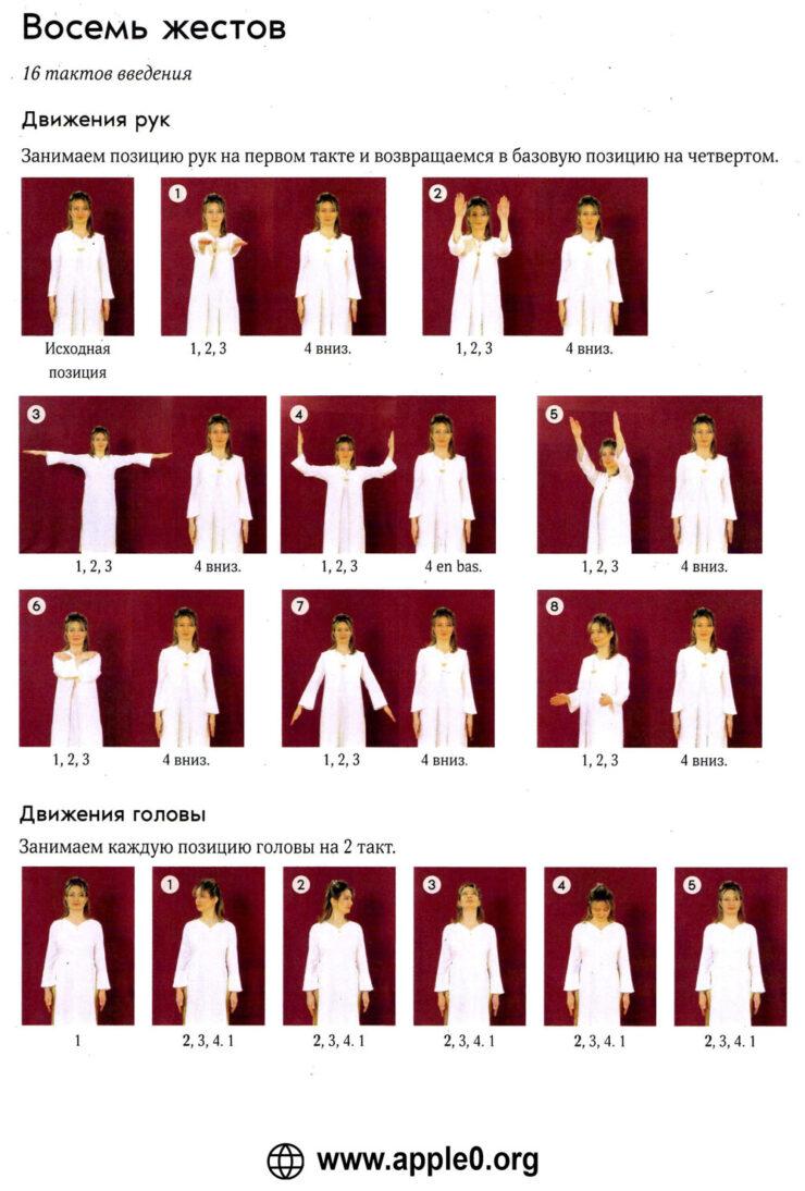 Восемь жестов